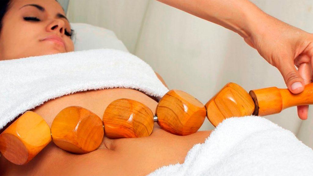 Tratamiento reductor con maderoterapia en Sevilla. Tratamiento reductor con masajes.